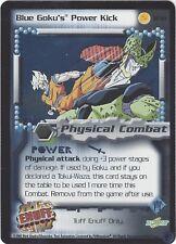 TCG 19 Dragon Ball Z: Blue Goku's Power Kick #TF19 TUFF ENUFF Promo Foil