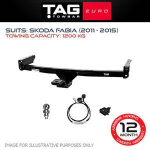 TAG Euro Towbar Fits Skoda Fabia 2011 - 2015 Towing Capacity 1200Kg 4x4 4WD