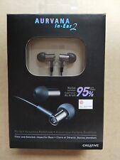 Creative Aurvana In-Ear 2 Comfortable Noise-isolating Earphones