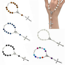 Catholic One Decade Pocket Rosary Beads Our Lady Of Sorrows Christian Bracelet