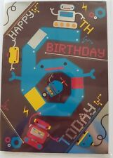 Age 6 Birthday Card Male Or Female Boy Or Girl 6th Birthday Cards