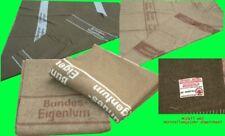 BW Bundeswehr Wolldecke Pferdedecke Umzugsdecke PORTOFREI210x200mit Flecken grau