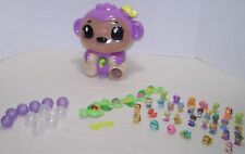 Squinkies Jungle Surprise Monkey Dispenser Animals Vine Coins Bubbles Huge Lot!