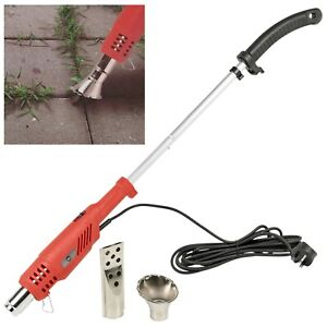 2000W Electric Wand Hot Air Torch Garden Patio Weed Burner Moss Remover Killer