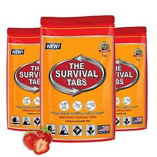 Survival Tabs 1 Day Food Storage Emergency Supply Survival Bag 1 Serving