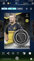 Topps Kick 2019 Erling Haaland UCL Silver Relic Rare /625 *DIGITAL CARD*