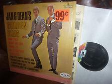 Jan & Dean, Jan & Dean's Golden Hits, Surf, USA Liberty LRP 3248 Mono LP 1964