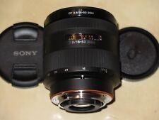 "Sony DT 2.8/16-50 SSM SAL 1650, Sony A-Mount, Deckel, Filter, ""TOP Zustand"""