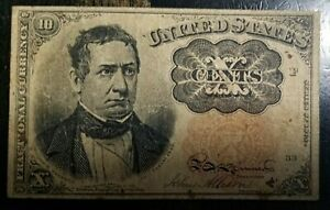 10 Cent Fractional Currency VERY GOOD CONDITION !!!