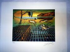 Salvador Dali Litografia 50 x 65 Bfk Rives Timbro a secco Firmata a Matita D131