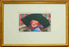 BONNIE JACKSON FEHLING SIGNED NUMBERED PRINT PORTRAIT OF A PAST LIFE LISTED ART