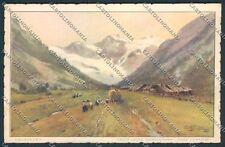 Aosta Valnontey cartolina C6609 SZB