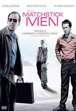 Matchstick Men Dvd Ridley Scott(Dir) 2003