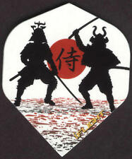 Dueling Samurai Dart Flights: 3 per set