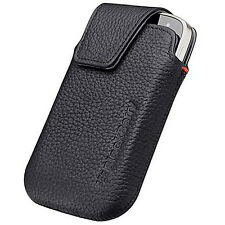 NEW Blackberry BOLD TOUCH 9900 9930 Leather Case Vertical Holster Pouch w Clip