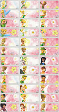 120 Tinkerbell Picture personalised name label (Small size)