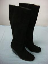 NWOT Women's A2 Zip Up Boots Black  Size 6 M #84G