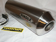 "Hindle 16"" long for 2"" pipe, Oval Titanium Muffler Stealth SM Left - 753S-1620TL"