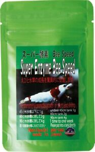 BENIBACHI SUPER ENZYME BEE SPEED Shrimp Food Crystal Red Cherry Taiwan