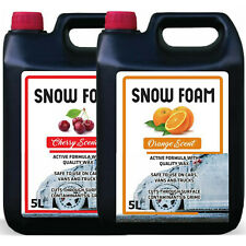 SNOW FOAM CHERRY & ORANGE FRAGRANCE CAR CANDY SHAMPOO HIGH GLOSS PH NEUTRAL 10L