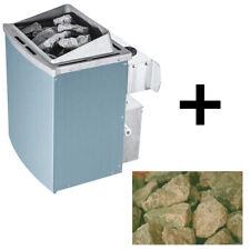 Saunaofen mit eingebauter Steuerung 9 kW inkl. 20 kg Steine