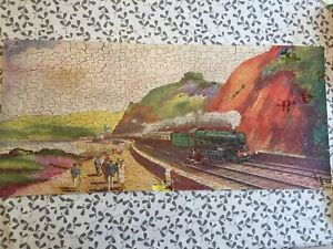 Vintage G.W.R (Great Western Railway) Jig-Saw Puzzle By Chad Valley (Incomplete)