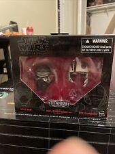 Star Wars Black Series Titanium Series Helmets #1 Kylo Ren Poe Dameron
