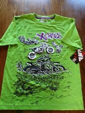 X Games Real Moto T-Shirt size Youth Medium - Brand New - MotoCross