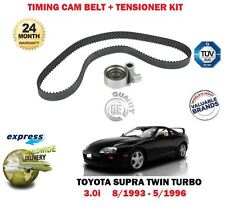 FOR TOYOTA SUPRA 3.0 TWIN TURBO 2JZ-GTE 1993-> TIMING CAM BELT + TENSIONER KIT