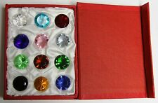 Mother's Day Special: Diamond Glass Paperweights 12pcs - 20mm