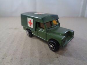 Hong Kong no.201/4 (Corgi Juniors casting) Land Rover Ambulance Military Diecast