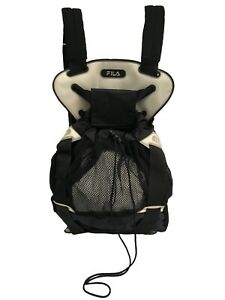 FILA Black Limited Edition Mesh Backpack B-boy Style Cool Backpack