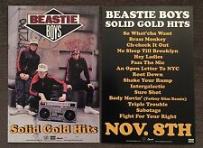 Beastie Boys Solid Gold Hits Postcard Promo Rare 2005