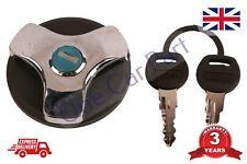 Trappe Carburant Bouchon de Réservoir Essence Diesel 2 Clés Vandal Protection