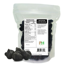 Black Mission Figs in Resealable Bags dried 12 oz to 25 LB free shipping