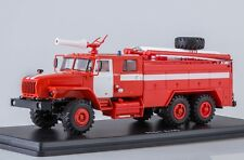Start Scale Models (SSM) 1/43. URAL-4320 Fire Engine AC-7,5-40.