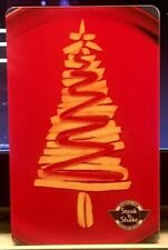 Steak N Shake Christmas French Fry and Ketchup Holiday Tree 2014 Gift Card