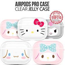 Genuine Hello Kitty Friends Big Face AirPods Pro Bumper Case made in Korea