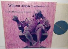 SRCS.76 William Alwyn Symphonies Nos. 4 & 5 LPO Alwyn Decca