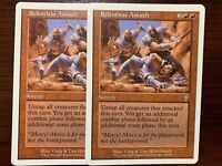 Magic the Gathering x2 *Relentless Assault* 2001 7th Edition 214, Rare, Unplayed
