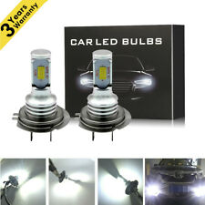 35W H7 LED Headlights Bulbs Conversion Kit High/Low Beam 4000LM 6000K White