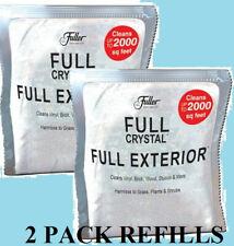 New Fuller Brush Full Crystal Full Exterior Cleaner - 2 Refills Only !