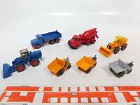 CA501-0,5# 7x Wiking 1:87/H0 Modell: Radlader+657/65 s Schütter+MAN+Magirus NEUW