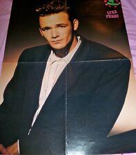 Luke Perry Poster Magazine Centerfold Vintage pin up Beverly Hills 90210 Damon