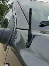 "4"" Short Black Aluminum Antenna Mast AM/FM for FORD F-150 F150 F 150 2009-2021"