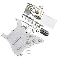 1 Set Complete Loaded Pickguard Pickups Tunners For Fender Strat Electric Guitar
