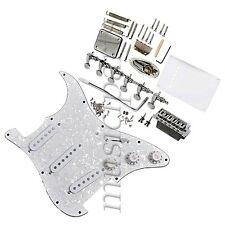 1 Set Complete Loaded Pickguard Pickups Tunners For Fender Strat Electric Guitar
