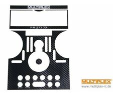 Multiplex PROFI Carbon Faceplate Decal , UK Modelshop, UK Stock