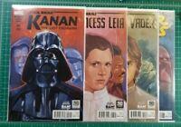Exclusive Noto Variant Kanan #1 Star Wars #4 Darth Vader Princess Leia #3 VF/NM