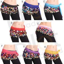 Cheaper Belly Dance Coin Chain Sequin Hip Skirt Scarf Wrap Belt Waistband